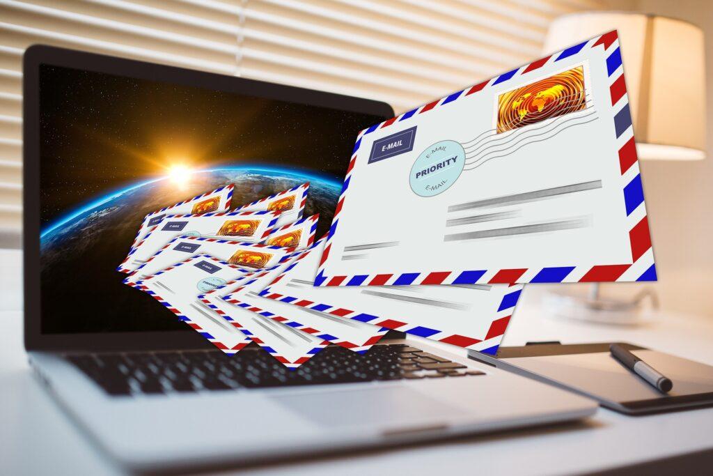 Email a hivatalos levelezésben.